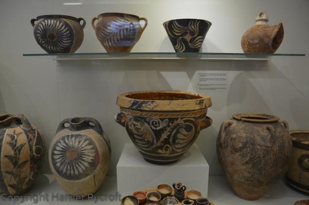 Kamares ware, 1800-1700 BC. Heraklion Archaeological Museum