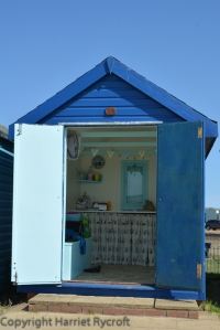 Can I come in? Beach hut at Brightlingsea