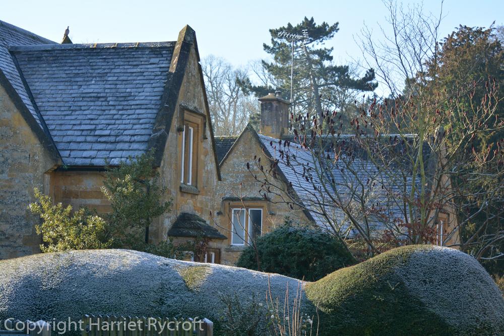 Frost in Batsford village