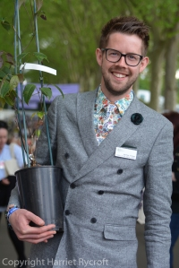 Matthew Pottage, curator of RHS Wisley and snappy dresser.