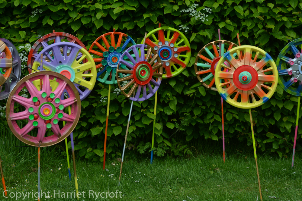 A garden full of sculptures for Oxfordshire Artweek